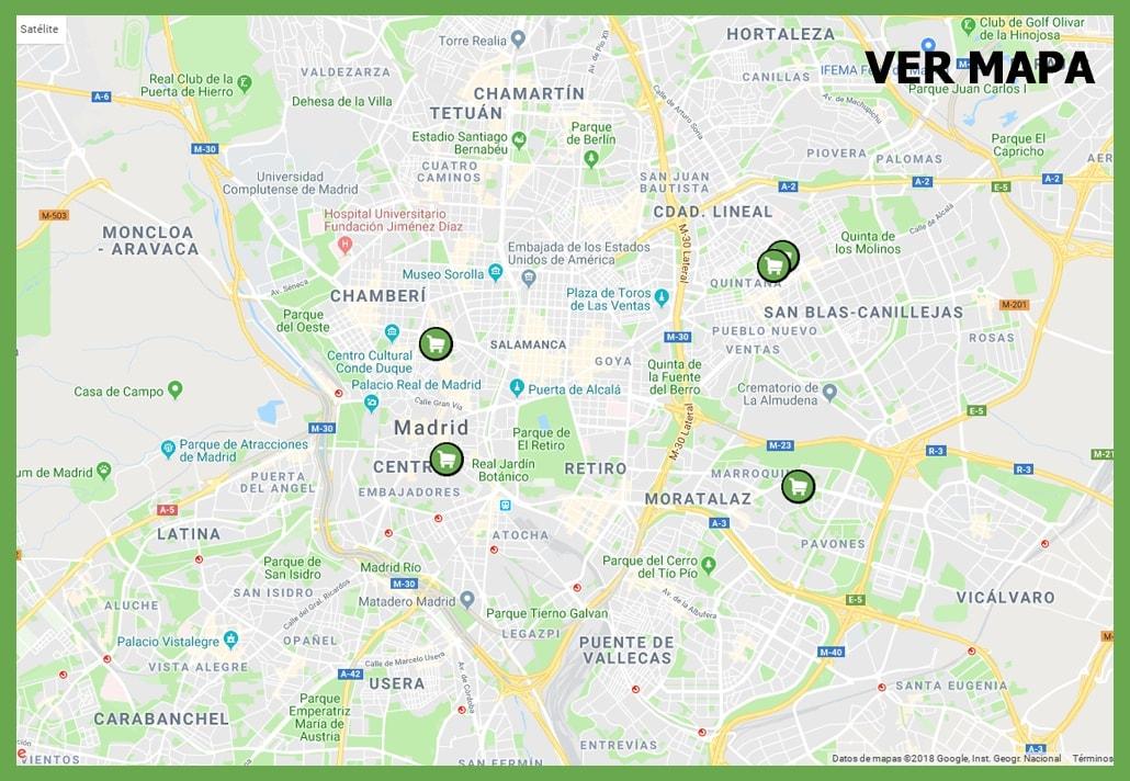 Tiendas veganas Madrid
