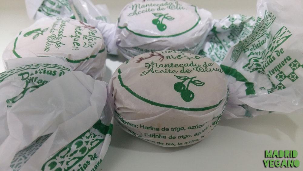 Mantecados de aceite de oliva de Delicias de Antequera