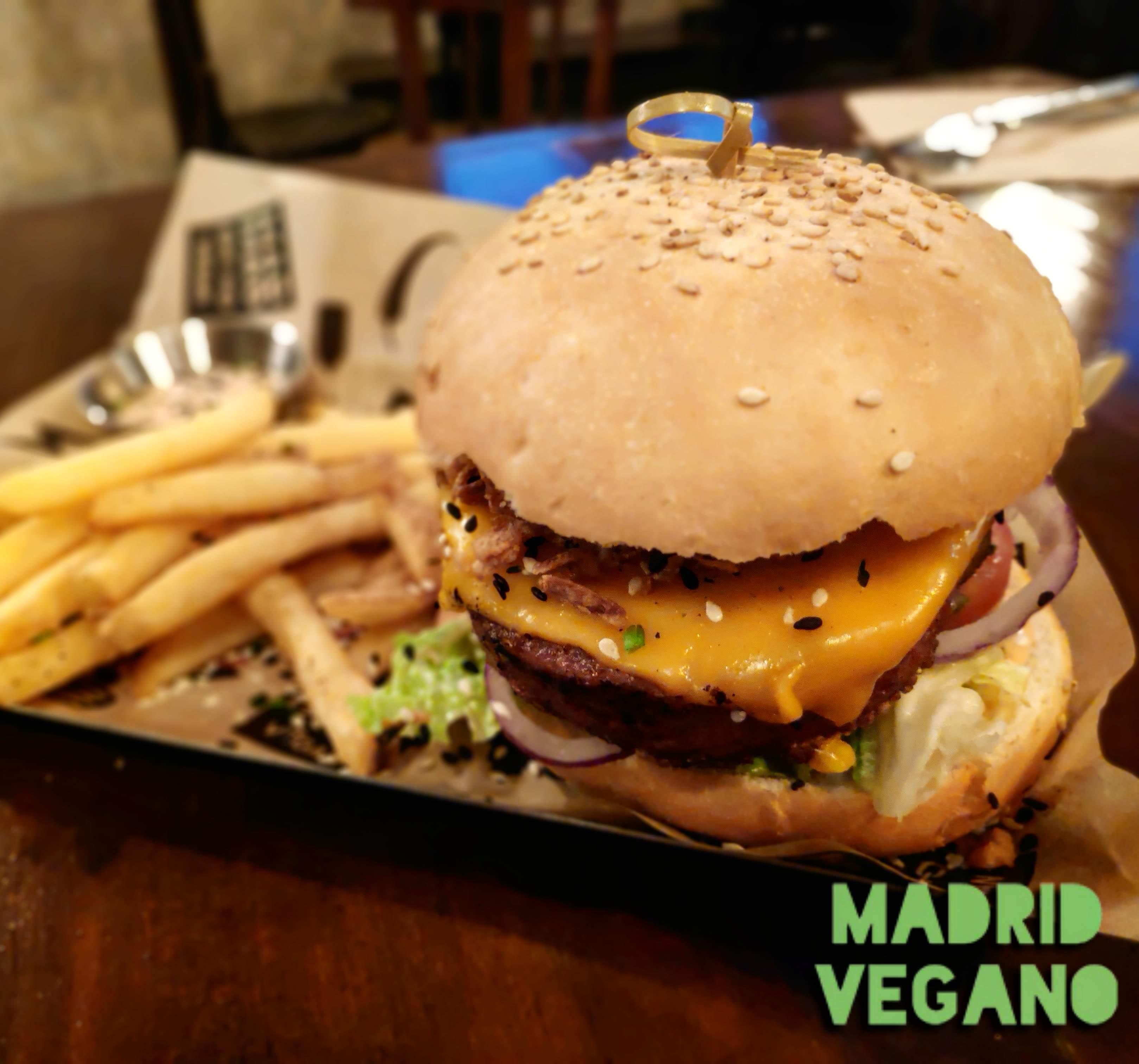 Lugares veganos en Madrid