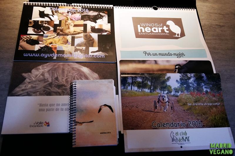 Calendarios, regalos solidarios para comenzar 2016