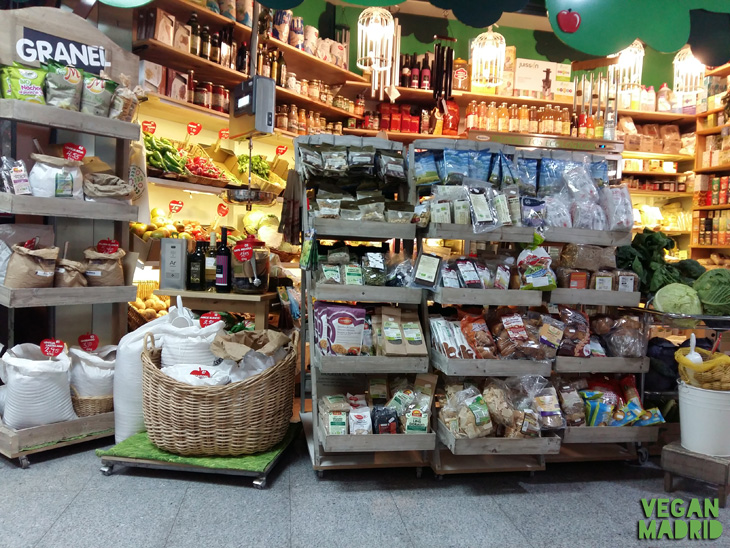 Ecotienda, mercado de Antón Martín