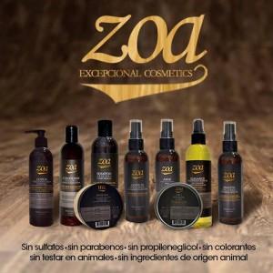 Línea de productos de Zoa Cosmetics