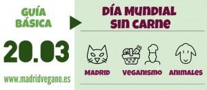 Día Mundial Sin Carne: 20 de marzo
