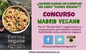 """Concurso: """"Gana un ejemplar del libro Cocina vegana"""""""