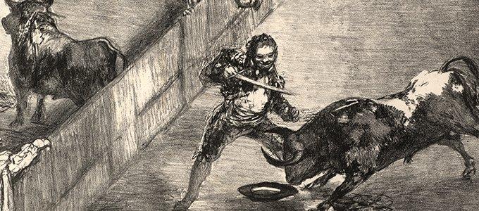 """""""Otras tauromaquias"""", una revisión contemporánea de la Tauromaquia de Goya"""