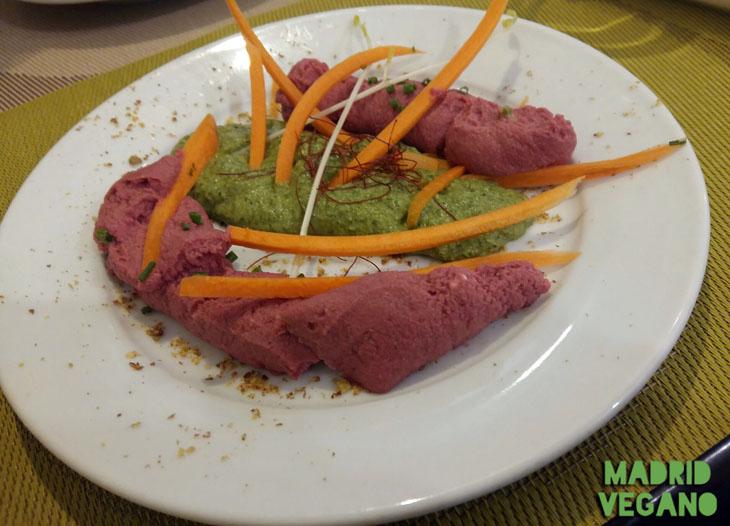 Llantén Veggie Bar, un bar vegano llena de sabor Chamberí