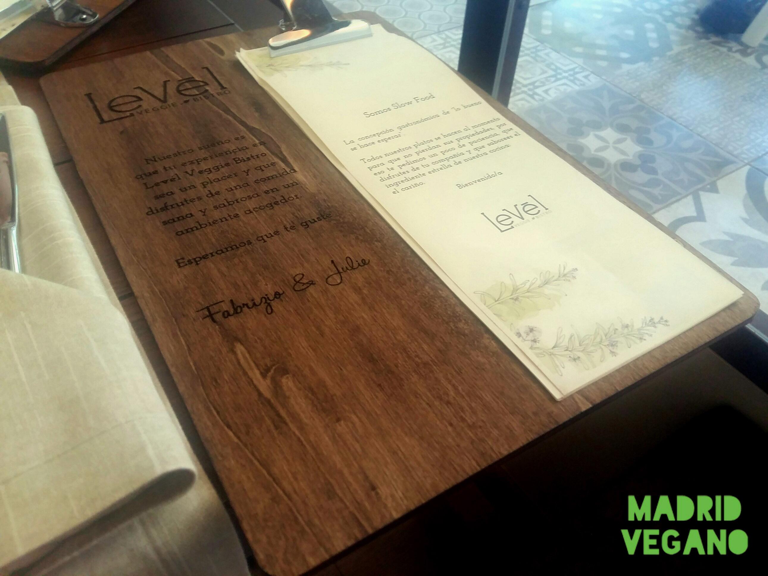 Levél Veggie Bistro, una sorpresa vegana frente a El Retiro