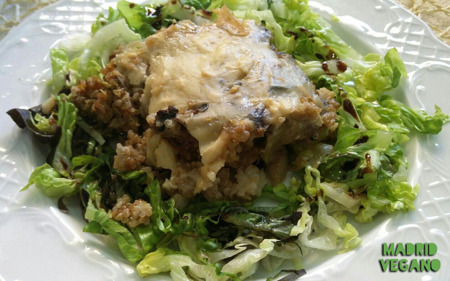 Cookaluzka, cocina vegana con un toque venezolano en Madrid