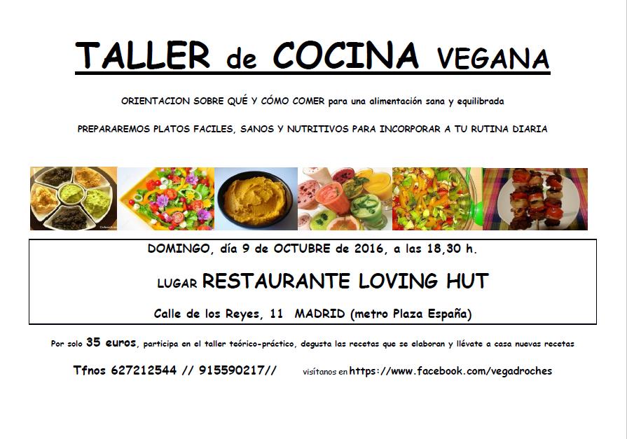 Taller de cocina vegana loving hut octubre madrid vegano for Curso cocina vegana madrid