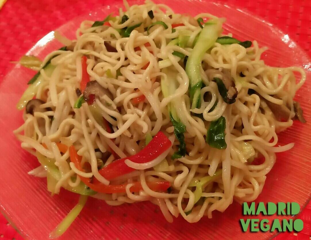 Healthy Lovers, nuevo restaurante vegano al estilo chino en Madrid