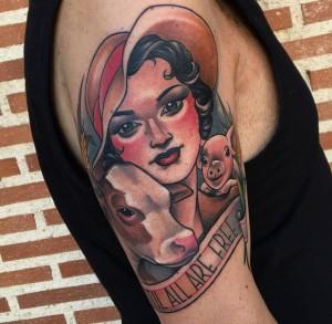 ¿Qué pasa con los tatuajes?