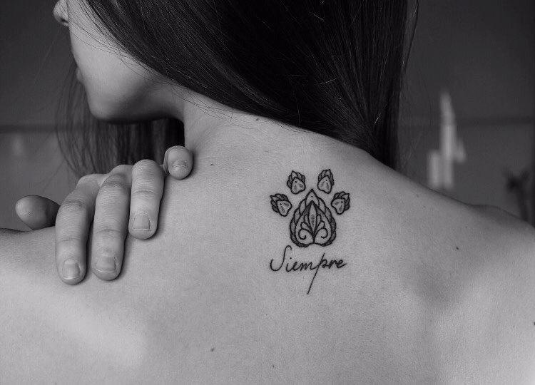 La Mujer Barbuda, una opción de tatuajes para veganos