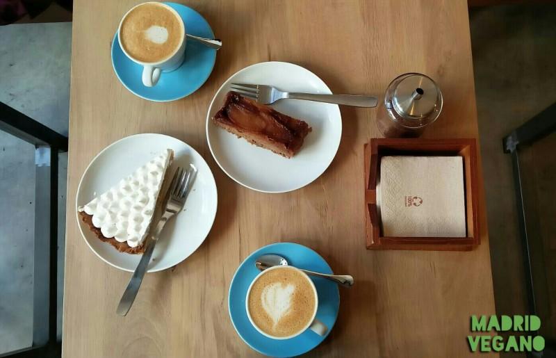 La Colectiva Café, vegetariano con deliciosas opciones veganas en Chamberí
