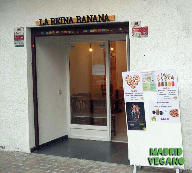 La Reina Banana, un bar de tapas veganas en Vicálvaro