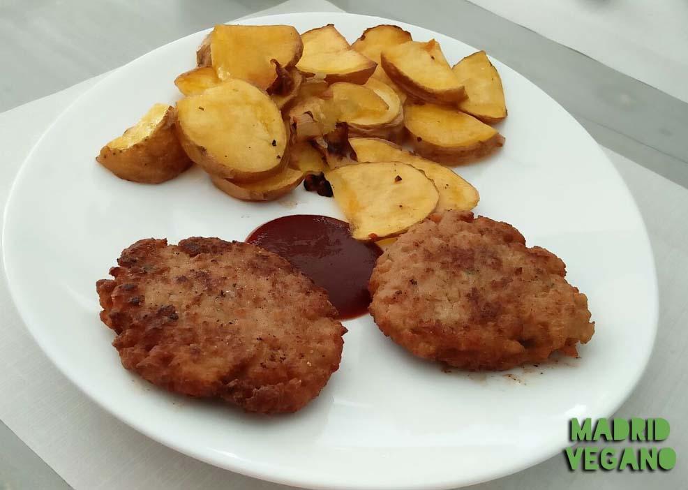 Empatía Rincón Vegano, comida casera junto a Atocha