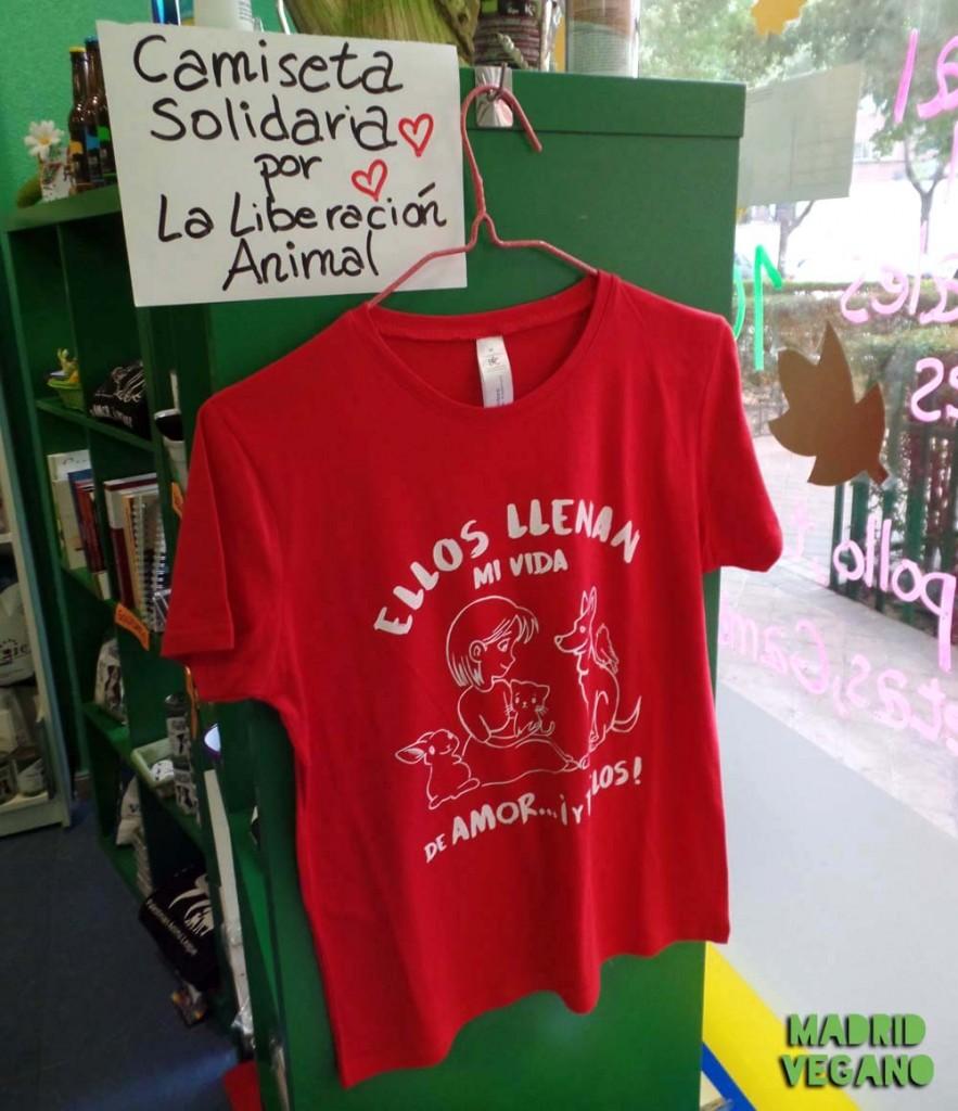 Camiseta solidaria Encuentro Vegano