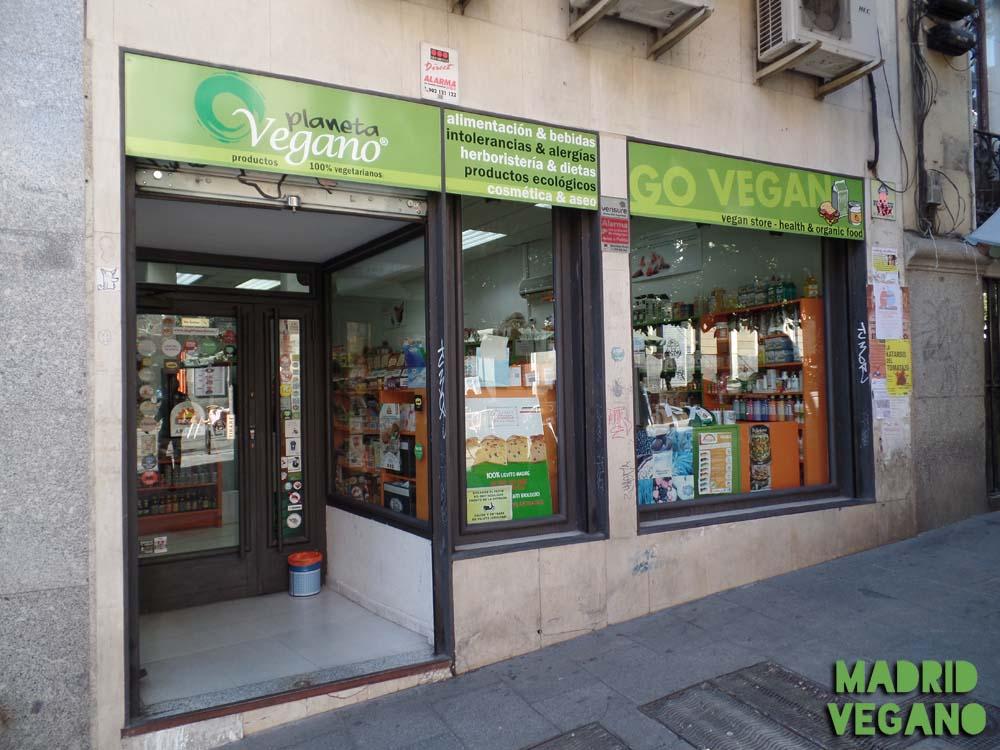Planeta Vegano, la tienda vegana más longeva de Madrid