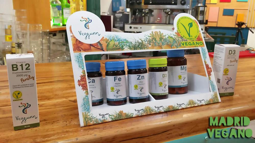 Veggunn, suplementos veganos y sostenibles