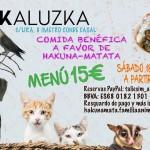 Comida a favor de Hakuna Matata en Cookaluzka