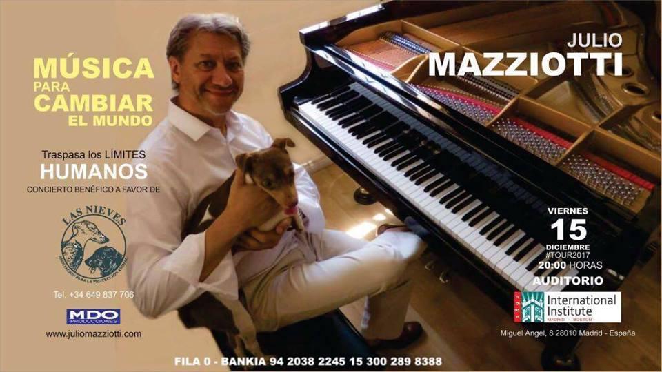Concierto de Julio Mazziotti a favor de Las Nieves
