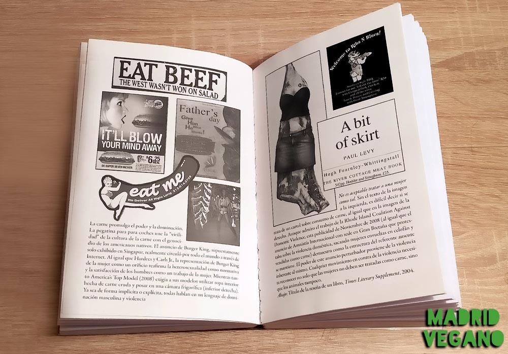 La política sexual de la carne, conectando feminismo y antiespecismo