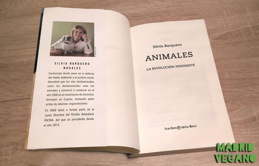 """""""Animales. La revolución pendiente"""", una llamada al cambio"""