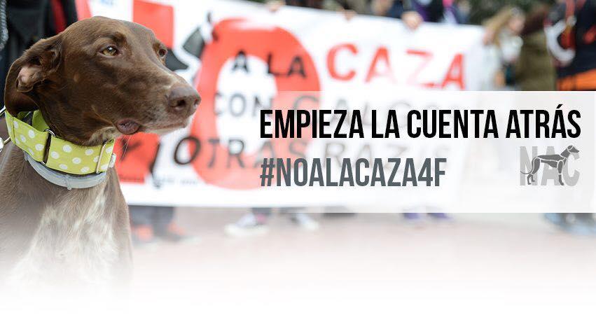 Manifestación #NoAlaCaza4F