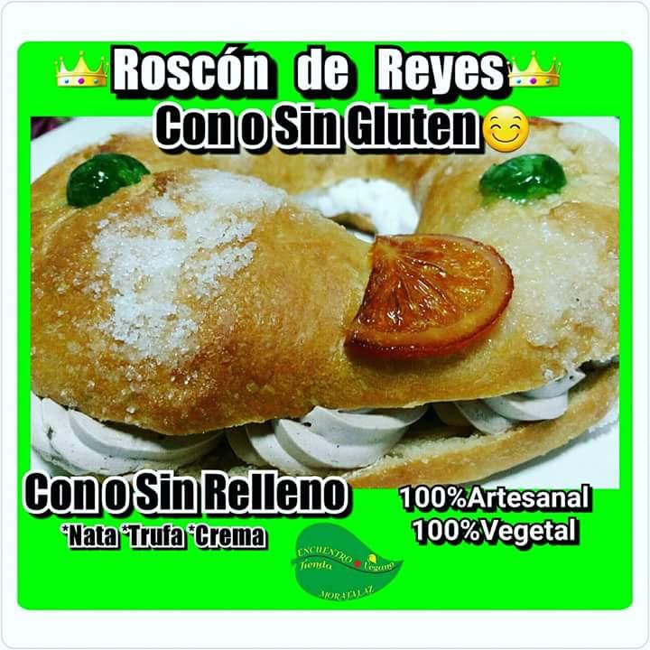Roscones de Reyes veganos en Madrid