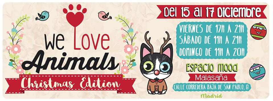 We Love Animals Market Christmas Edition