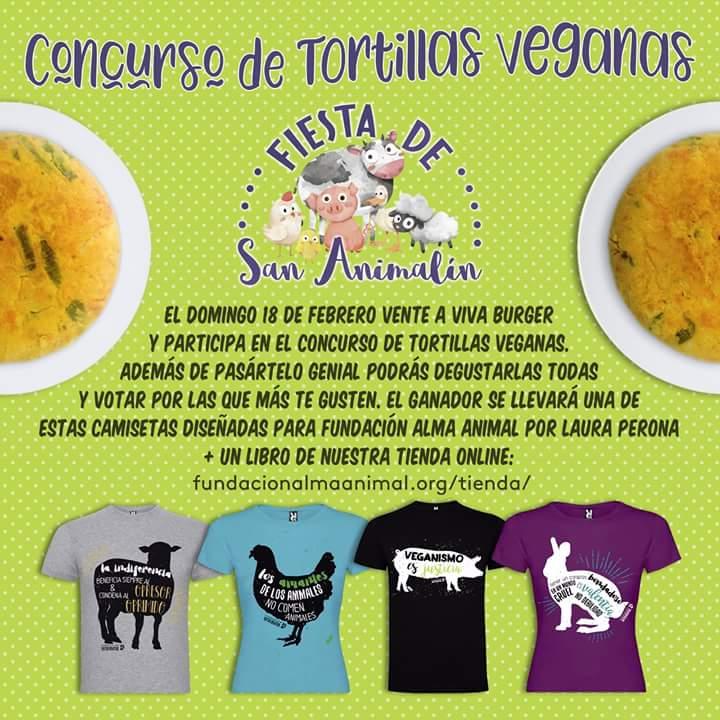 Fiesta de San Animalín 2018 organizada por la Fundación Alma Animal