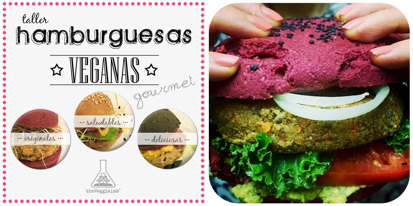 Taller de hamburguesas veganas gourmet (febrero)