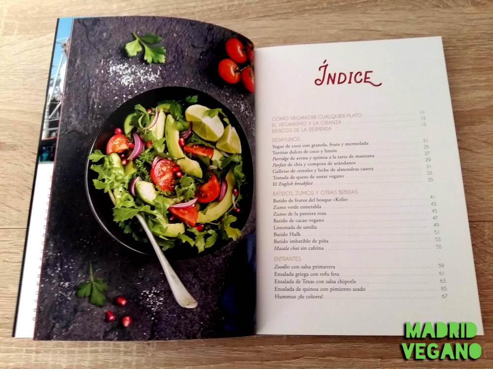 Cocina vegana para toda la familia, platos ricos y éticos para cualquier edad