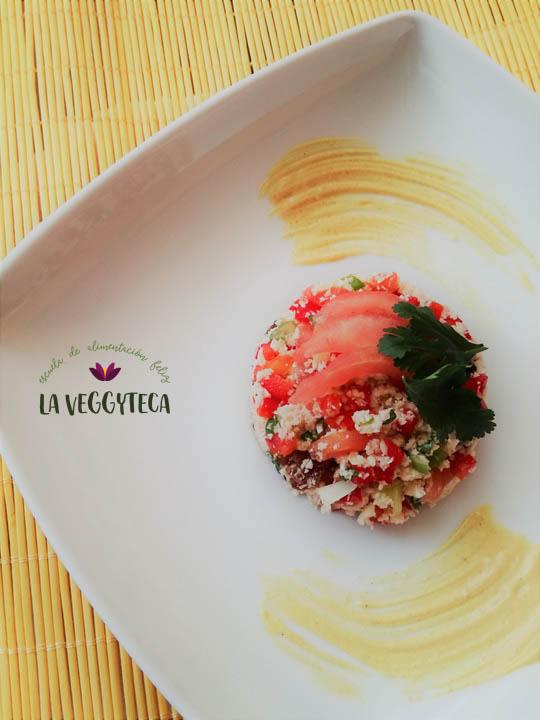 La Veggyteca, enseñando a cocinar vegano