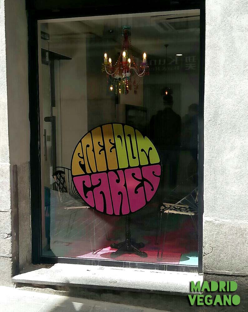 Freedom Cakes, la primera pastelería vegana de Madrid