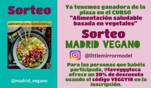 """Sorteo: Gana una plaza para el curso """"Alimentación saludable basada en vegetales"""" (FINALIZADO)"""