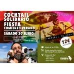 """Cocktail solidario """"Fiesta del verano"""" a favor de Wings of Heart"""