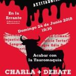 """Debate: """"Acabar con la tauromaquia"""" en Majadahonda"""