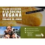 Taller de iniciación a la cocina vegana a favor de Wings of Heart (junio)