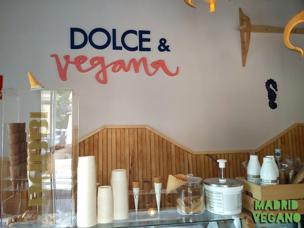 Dolce&Vegana, un tentempié vegano en Madrid Río