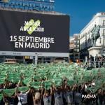 Misión Abolición 2018: manifestación antitaurina en Madrid