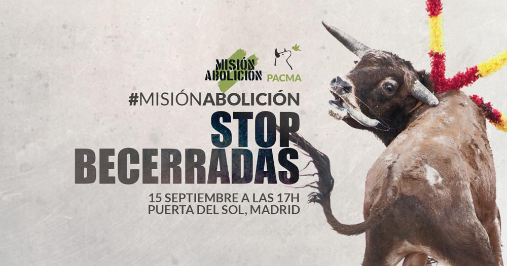 Misión Abolición 2018: ¿Qué espera PACMA de esta convocatoria?
