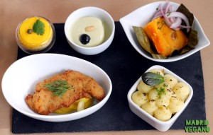 Los Andenes Vegan, así es su menú degustación