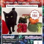 Cena navideña a favor de Zarpas y Colmillos en Vegania Veggie Bar