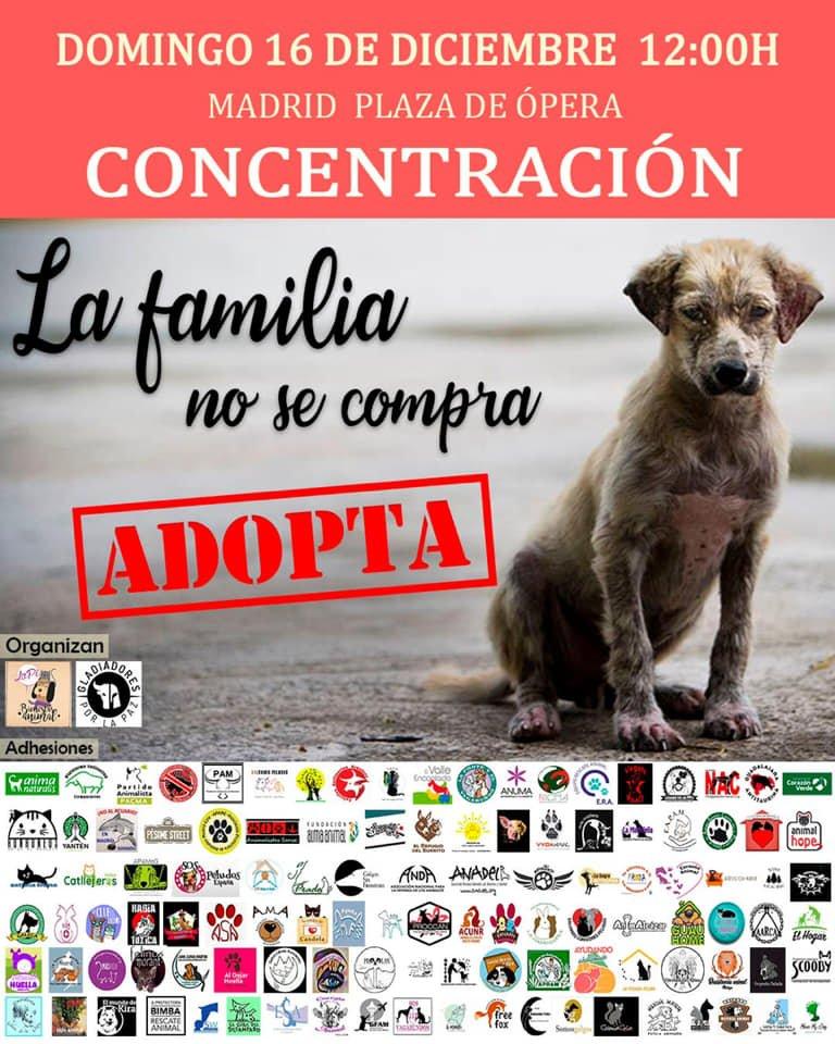 La familia no se compra. Adopta y salva una vida