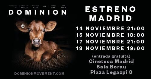 Estreno Dominion en Madrid