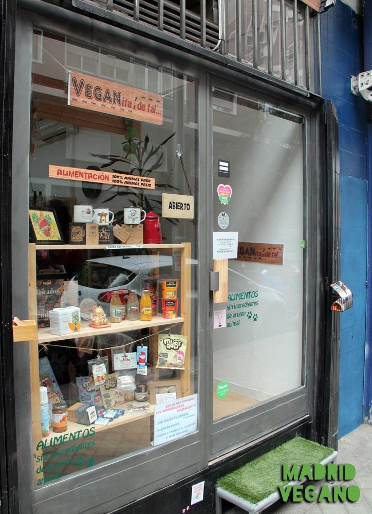 VEGANita de tal, alimentación vegana en Pacífico