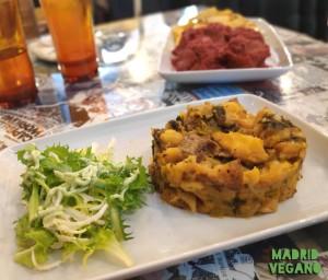 La Vegana Vallekana, comida vegana, casera y ecológica