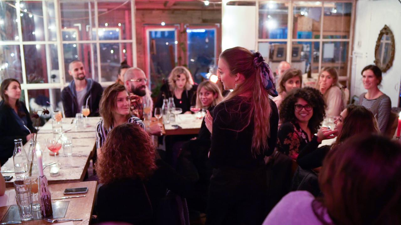Cena Pop Up con la chef londinense Lauren Lovatt