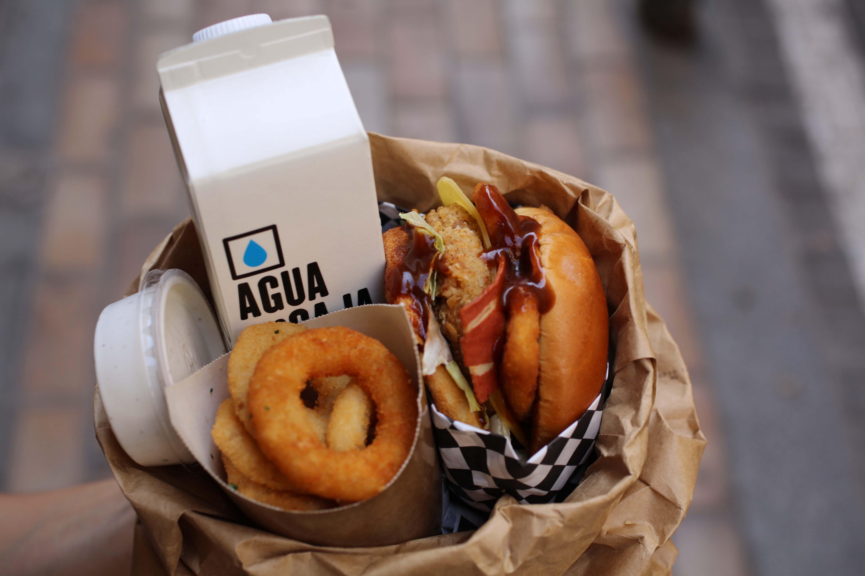 Thunder Vegan Food, fast food vegana en Malasaña