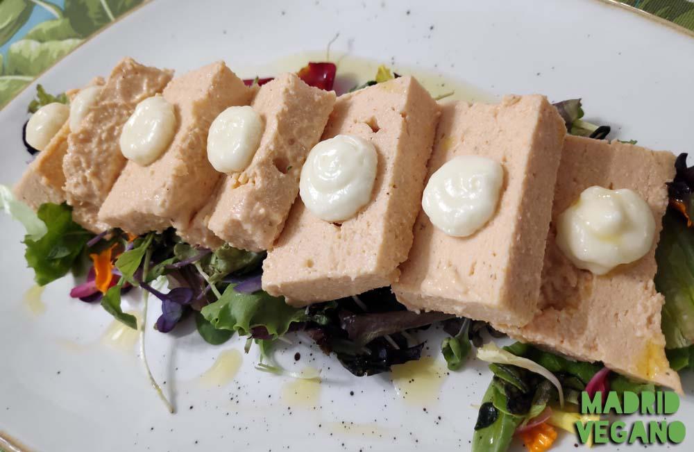 La Modernista, sofisticada cocina vegana junto al Paseo de la Castellana